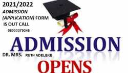 Ahmadu Bello University Teaching Hospital 2021/2022 Session Admission Forms are on sales