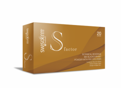 Maintain natural health status with Swisderm S Factor...